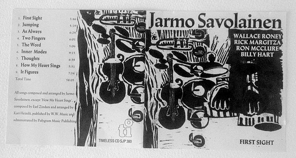 Jarmo Savolainen: First Sight (Timeless Records, 1992)