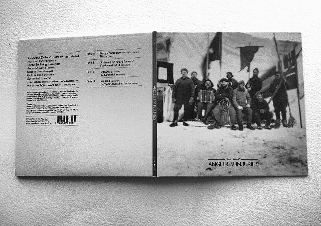 """""""Injuries""""-levyn kannessa on valokuvia Fridtjof Nansenin  retkikunnan matkoilta."""