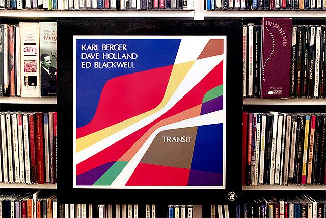 Karl Berger/Dave Holland/Ed Blackwell: Transit  (Black Saint, 1987)